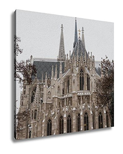 Ashley Canvas, Votice Church In Vienna In The Winter With Snow, 32x32, AG5903140 by Ashley Canvas