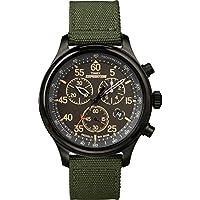 Reloj Timex TW4B10300 Expedition Field Chrono verde /negro con correa de lona para hombre