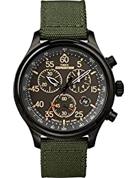 Men's TW4B10300 Expedition Field Chronograph Green/Black Nylon Strap Watch