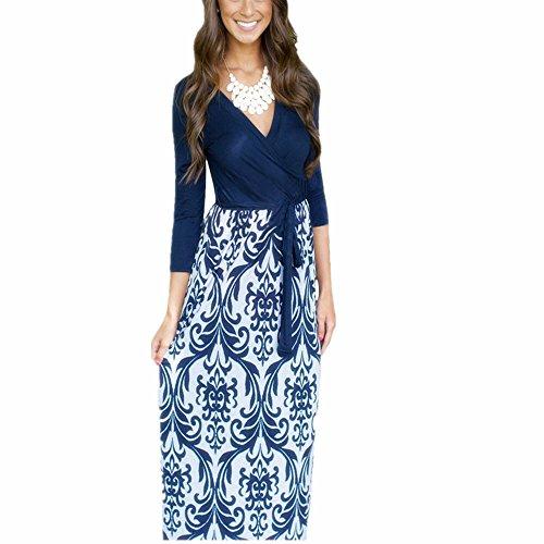 Buy maxi dress 3/4 length sleeves - 4