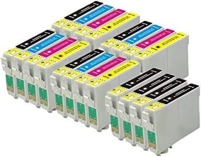 20 ECS Compatible Cartuchos de Tinta para Epson WF-2010 W WF ...