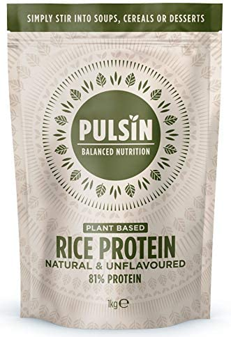 Pulsin Protein Concentrate, Rice, 35.27 Ounce