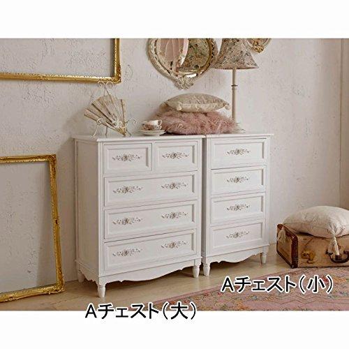 【直送】レリーフ取っ手家具シリーズ(チェスト小) Aチェスト B075ZR3VQKAチェスト 小