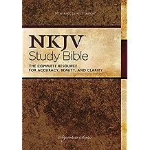 NKJV Study Bible, Hardcover: Second Edition