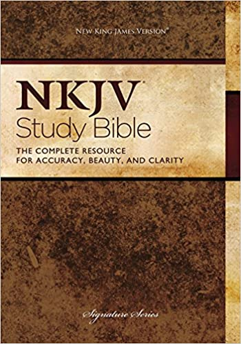 The NKJV Study Bible: Thomas Nelson: 8601200544329: Books
