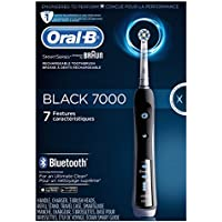 Oral-B Precision Black 7000 Rechargeable Electric Toothbrush with Bluetooth Connectivity