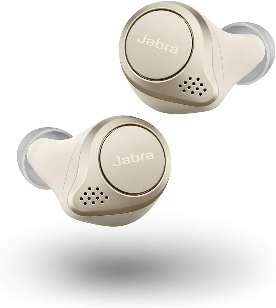 Amazon Com Jabra Elite 75t Gold Beige Replacement For Lost Or Damaged Earbuds Case Not Included Electronics