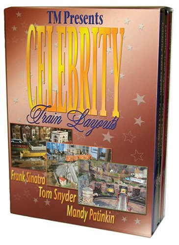 Celebrity Train Layouts, 3-DVD Boxed Set