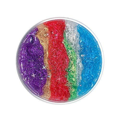OrchidAmor New Interstellar Galaxy Fluffy Powder Slime Relief Children Kid Funny Toy Gift