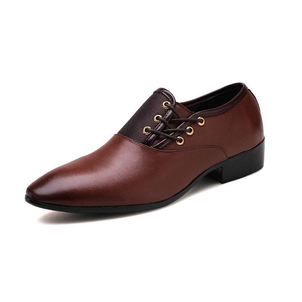 HhGold HhGold HhGold Herrenschuhe Leatherette Fall Business schuhe Spring Fall Formale Schuhe Oxfords Schwarz Braun Party & Abend Kleider Schuhe,braun,44 (Farbe   Wie Gezeigt Größe   Einheitsgröße) 137a93