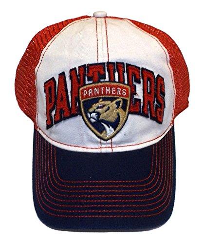 (Florida Panthers Flex Mesh Back Slouch Reebok Hat - L/XL - EW43Z)