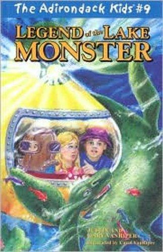 The Adirondack Kids #9: Legend of the Lake Monster (Kids Adirondack)