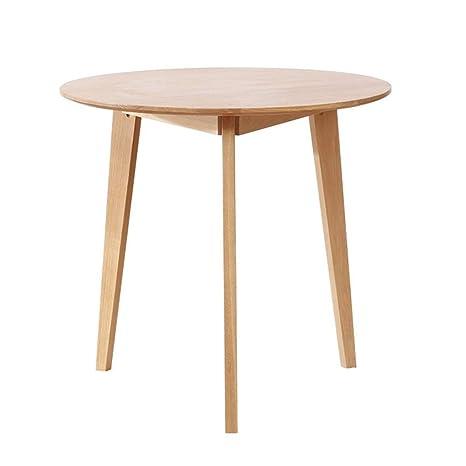 Amazon.com: Mesa de comedor de café, mesa redonda de oficina ...