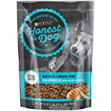 Honest To Dog Made in USA Facilities, Limited Ingredient, Grain Free, Natural Dog Treats; Chicken - 16 oz. Pouch