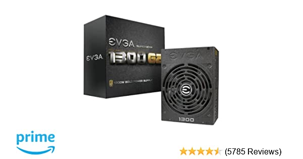 GOLD 1300W **14 DAYS RETURN **FREE SHIPPING ** EVGA SuperNOVA 1300 G2 80