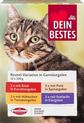 Il Tuo Migliore Cibo Umido Per Gatti Confezione Risparmio Sacchetto