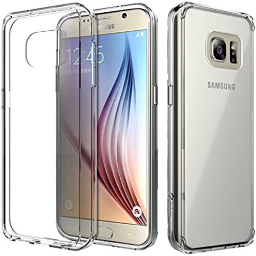 S7 Case, Style4U Galaxy S7 [Scratch Resistant] Slim Clear Back Case / Cover with soft TPU Bumper for Samsung Galaxy S7 [Clear] Sales