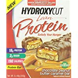 Hydroxycut Lean Protein Bars, Chocolate Peanut Butter, 5 Count