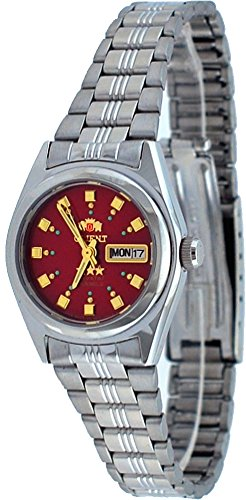Orient #BNQ1X003H Women's Tri Star Red Dial Automatic Watch