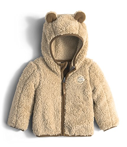 The North Face Infant Plushee Bear Hoodie Pale Khaki (24 Month) by The North Face