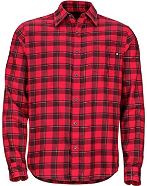 Bodega Lightweight Flannel Shirt - Men's Fire, M