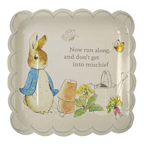 meri-meri-paper-party-plate-peter-rabbit-scallop-edge-large