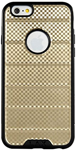 LAX Gadgets Cell Phone Case for iPhone 6 - Retail Packaging - Gold