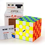 CuberSpeed Qiyi Wushuang 5x5 Stickerless Magic cube MoFangGe MFG Wuchuang 5x5x5 Stickerless Speed cube