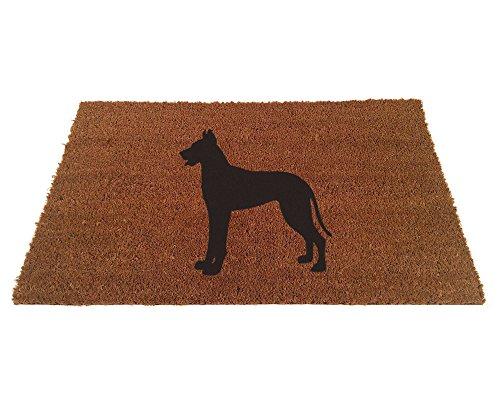 - Great Dane Silhouette Doormat (18