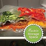 150 Combo FoodVacBags Vacuum Seal Bags - 3