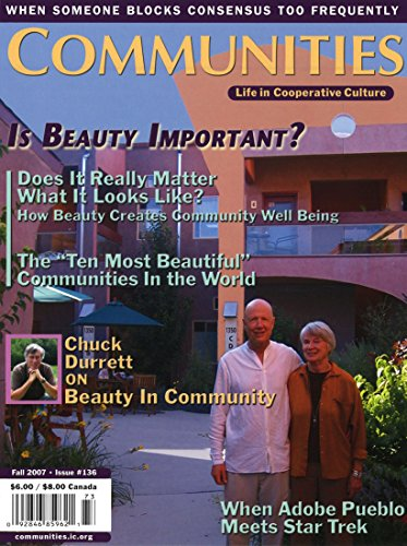 Communities Magazine #136 (Fall 2007) – Is Beauty Important