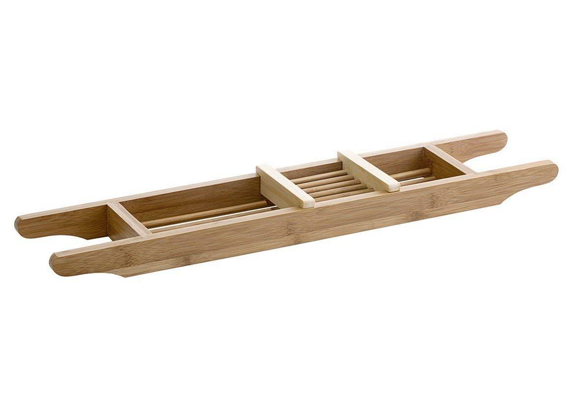 Ablagen, Schalen & Körbe 4 X 64 X 15 Cm... Möbel & Wohnen Sinnvoll Relaxdays Badewannenablage Aus Bambus Mit Gitter Hbt