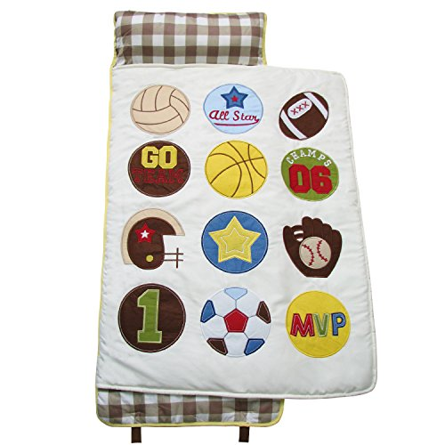 SoHo Nap Mat , Super Sports Fan (All Hand Embroidery)