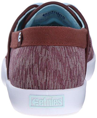 Skateboarding Shoes Etnies Women's Corby Burgundy EPqvUSBvwn