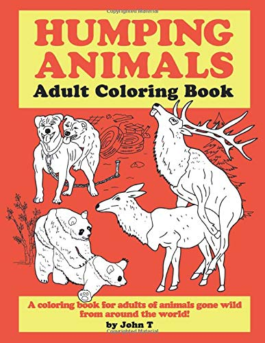 Humping Animals Adult Coloring Book