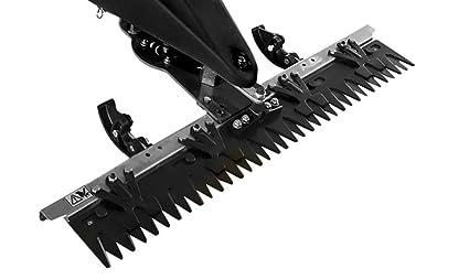 Zipper Peine para segadora ZI-BM870ECO Repuesto Cuchillas de ...