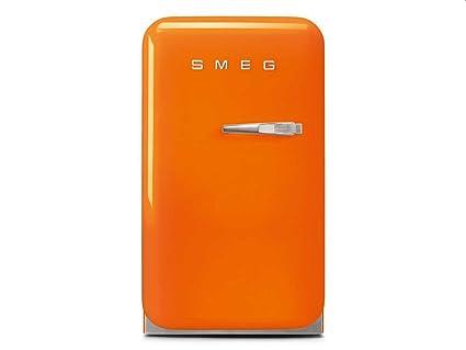 Smeg Kühlschrank Tiefe : Smeg fab5lor autonome 31l d orange kühlschrank u2013 kühlschränke 31 l