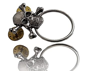 Daywalker-Bikestuff Gafas plana Pin & # x2022; Skull ...