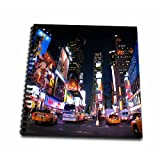3dRose db_4788_2 New York City Times Square Memory Book, 12 by 12-Inch