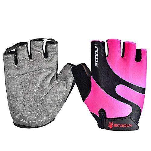 Anser 2130042 Riding Gloves Cycling Gloves Breathable Bike Gloves Sport Gloves for Children or Women (Pink, S)