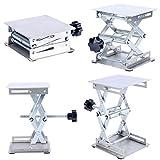 YaeTek American Educational Lift Tables 4 x 4'' Platforms (Silver)