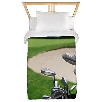 CafePress - Palos de golf con Curso y arena trampa en doble ...