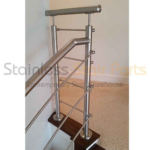 Contemporary Staircase Stainless Steel Newel Post E0042. - Import ...