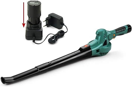 GBB&MYF Soplador de Hojas inalámbrico, soplador de jardín eléctrico y aspiradora, segadora de batería de Iones de Litio de 10.8 V 2.0 Ah, secador de Pelo de Hierba, soplador de Nieve: Amazon.es:
