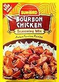 Sunbird Mix Chicken Bourbon Seasoning Mix, 1.25 Ounce (Pack of 12)