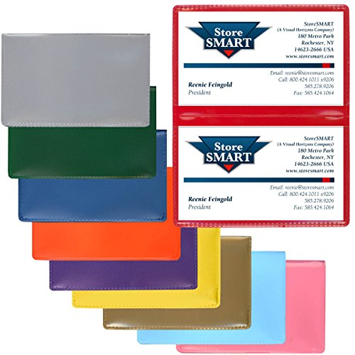 StoreSMART - Plastic Folding Card Holders Variety 10-Pack - RPP2915VP-10