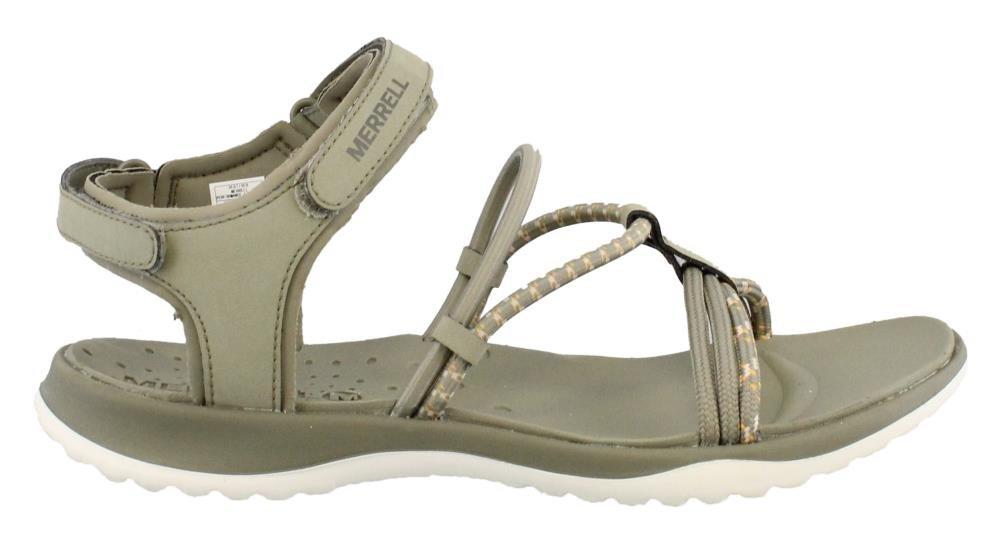 Merrell Women's Sunstone Strap Sandals (8, Vertiver)