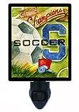 Sports Night Light - Vintage Soccer