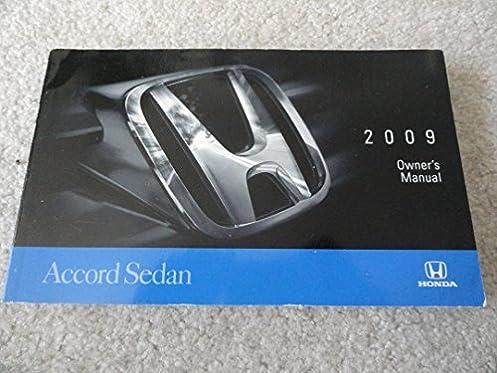 2009 honda accord sedan owners manual honda amazon com books rh amazon com honda accord coupe 1996 service manual 1996 honda accord owners manual download