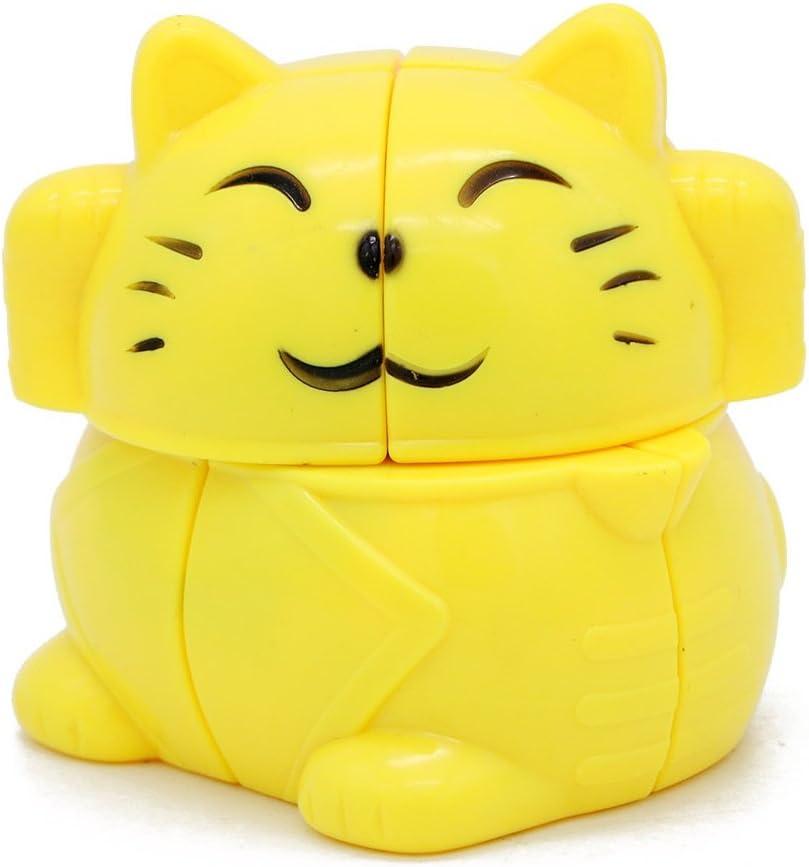 Little Treasures Fortune Cat Cube 2x2 Sequential Puzzle Cube